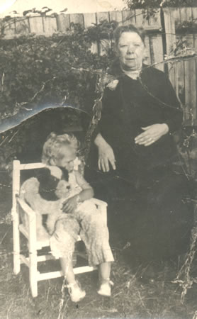 Annie Marston and Grand-Daughter